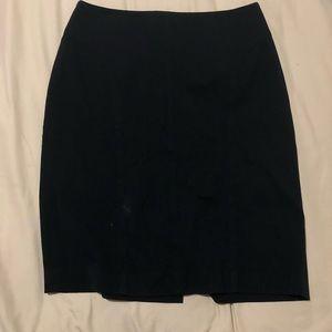 Black pencil skirt size 4